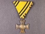 Mobilisační kříž 1912-13, původní stuha