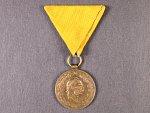 Čestná medaile za 25 let záslužné činnosti hasičské a záchrané, původní stuha