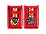 Medaile za Zásluhy NDR, etue, Batt.1374