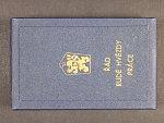 Řád rudé hvězdy práce ČSSR č.4655, punc Ag 925, značka výrobce ZUKOV, originální etue
