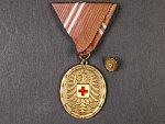 Bronzová záslužná medaile o Rakouský Červený kříž