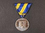 Medaile Za zvláštní službu Zemského veteránského spolku Dolní Rakousko stříbrná