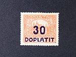 zn. DL č. 29 B, typ II, v pravém spodním rohu nápichový bod, kat. cena 8000 Kč