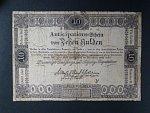 10 Gulden 16.4.1813, Ri. 053, mimořádně vzácný