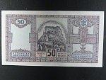 Slovensko, 50 Ks 1940 II.vydání, nevydaná, oboustranná