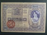 10.000 Kronen (1920) série 1002 s přetiskem, Ri. A43