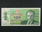 100 Kčs 1989 s. A 16