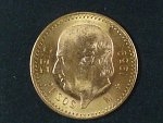 10 Pesos 1959, Au 0,900, 8,33g, KM 473