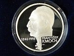 200 Kč 1998, 150. výročí F. Kmocha, certifikát, bezvadná kvalita