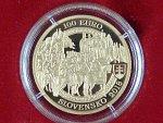 100 Euro 2018 Korunovace Ferdinanda II, Au 900, 9,5g, etue, certifikát