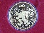 1997, Česká mincovna, zlatá medaile 10 Dukát 1997, Au 0,999, 31,11g, etue, certifikát