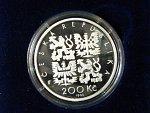200 Kč 1995, 200. výročí narození P.J.Šafaříka, certifikát ke kvalitě b.k.