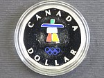 1 Dolar 2010, 7g 0.925 Ag, etue, certifikát_