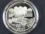 10 Euro 2009, 22,2g 0.900 Ag, etue, certifikát_