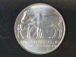 50 Kčs 1987 zachování chovu koně Převalského