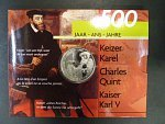 500 Francs 2000, Ag 925/1000, 22.85g,  papírový obal, bezvadná kvalita