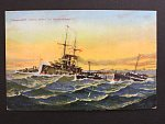 Lode - bar. pohlednice Flaggenschiff