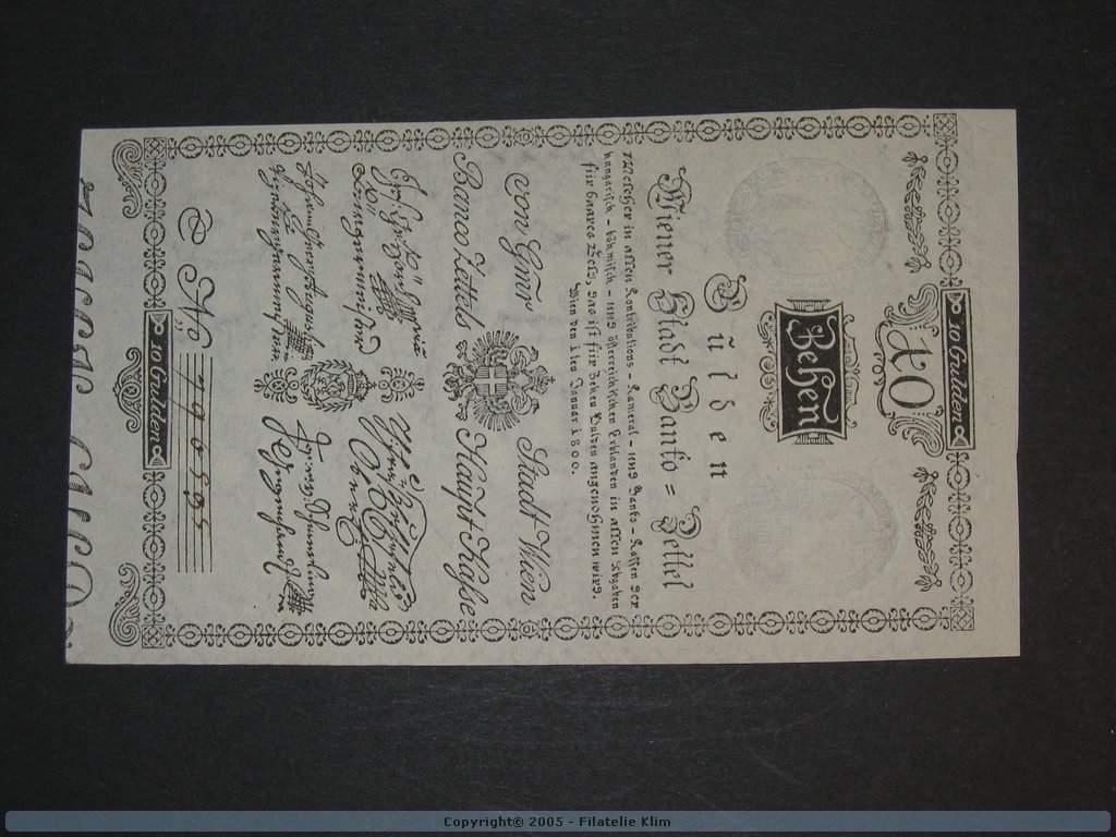 10 Gulden 1.1.1800, Pi. A32, Pi.-Ri. 32