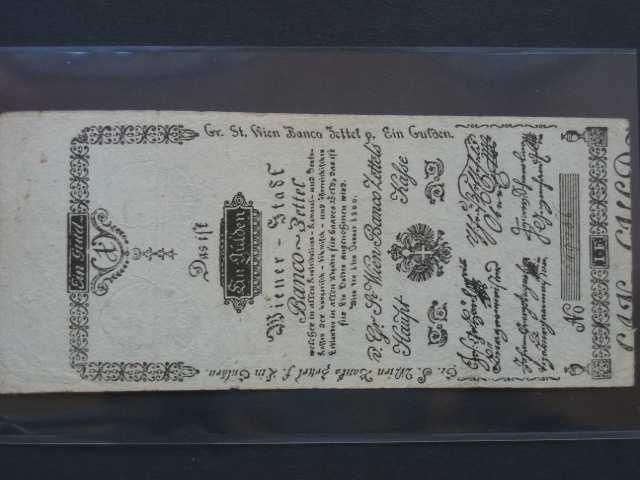 1 Gulden 1.1.1800, Pi.-Ri. 29, Pi. A29