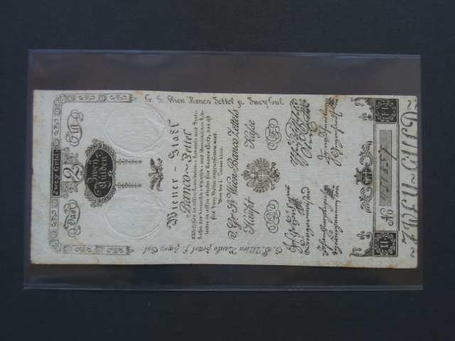 2 Gulden 1.1.1800, Pi.-Ri. 30, Pi. A30, natržený