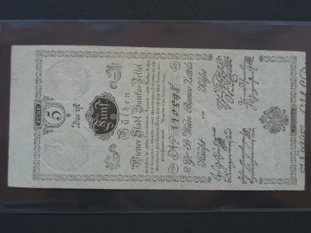 5 Gulden 1.1.1800, Pi.-Ri. 31, Pi. A31