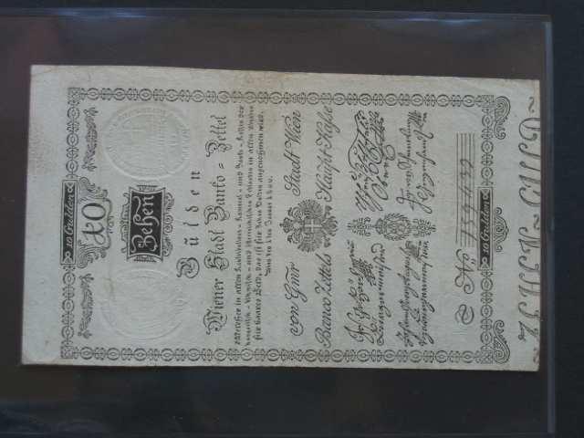 10 Gulden 1.1.1800, Pi.-Ri. 32, Pi. A32