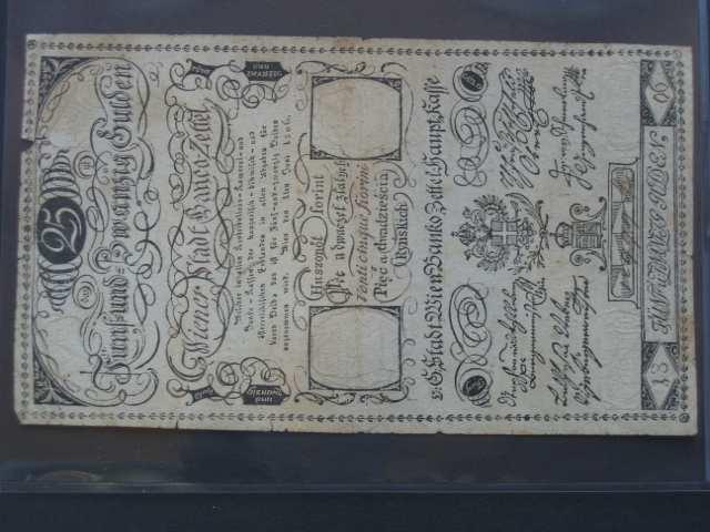 25 Gulden 1.6.1806, Pi.-Ri. 40, Pi. A40