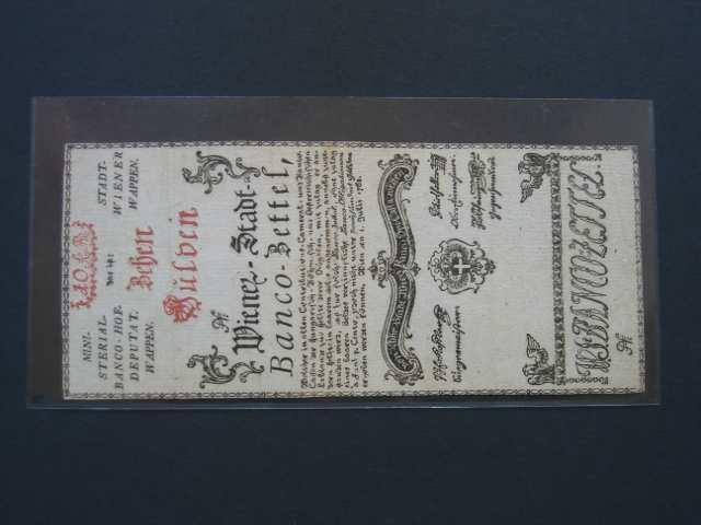 10 Gulden 1.7.1762 formulář, Pi.-Ri. 4F, Pi. A4
