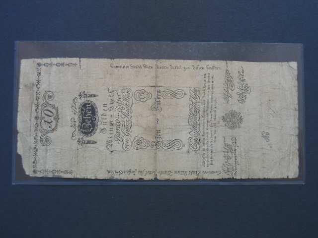 10 Gulden 1.8.1796, Pi.-Ri. 23, Pi. A23, velmi vzácný