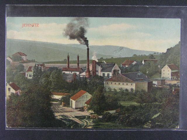 Jehnice - bar. pohlednice nepoužitá