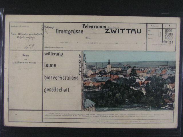 Svitavy - Zwittau - bar. pohlednice