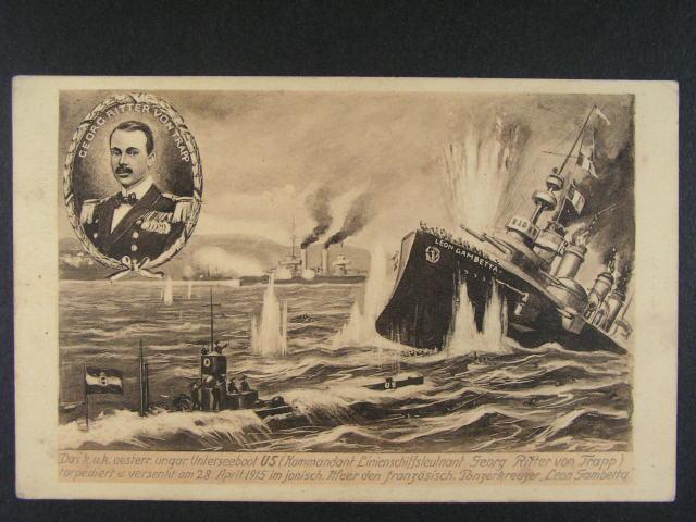 Lod? - jednobar. pohl. s ponorkou U 5 v akci