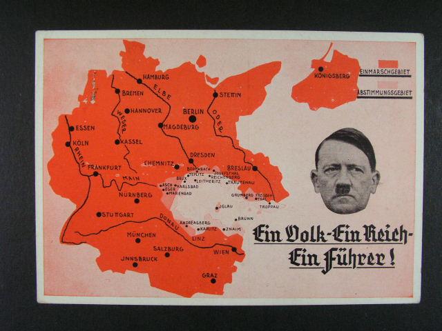 dvoubar. pohl. Ein Volk - Ein Reich - Ein Führer, dobrá kvalita