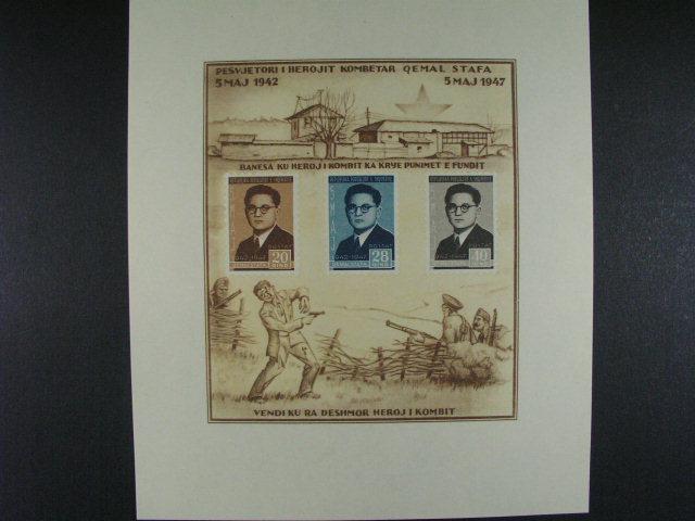 Bl. Mi. 4, rok 1947, 100 EUR