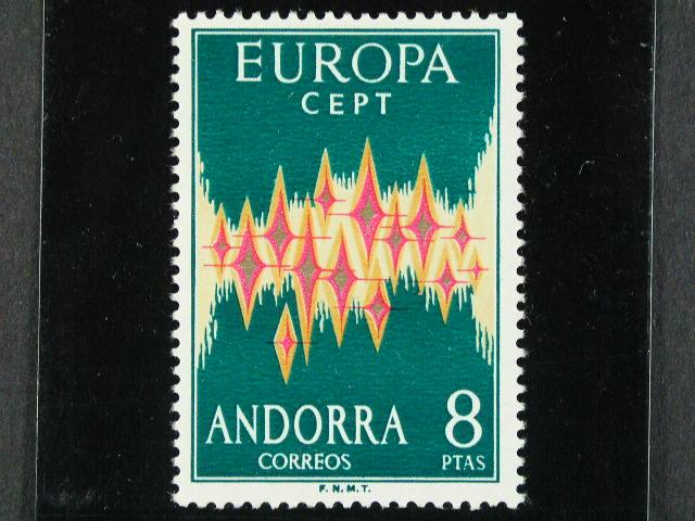 Špan?lská - - EUROPA CEPT Mi ?. 71