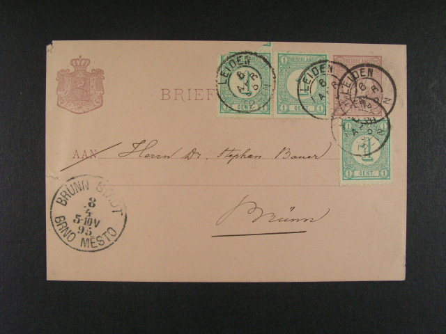 celiny - sestava 10 ks celin použitých i nepoužitých z let 1871 - 1893, zajímavé