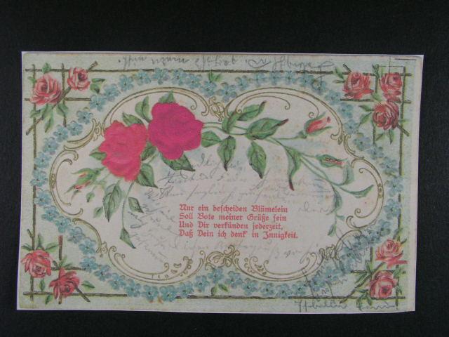 bar. litograf. pohlednice frank. rak. zn. 5h F.J., pod. raz. TRIESEN 1.7.03 + p?ích. raz.