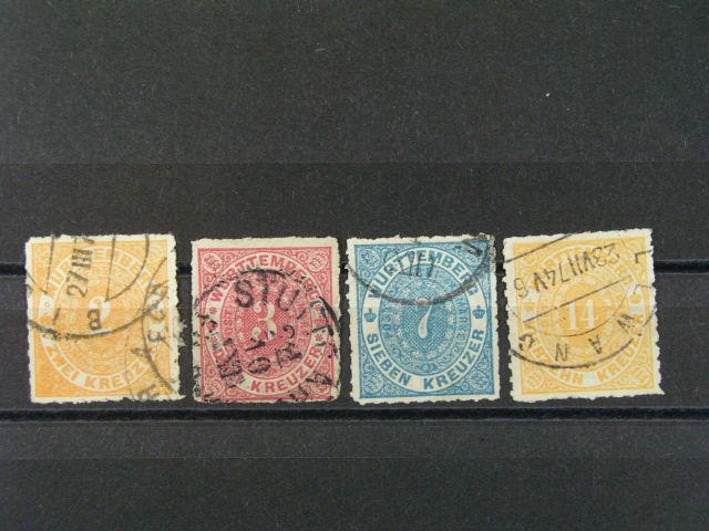 Würtenberg - zn. Mi. ?. 37 - 39, 41, 250 EUR