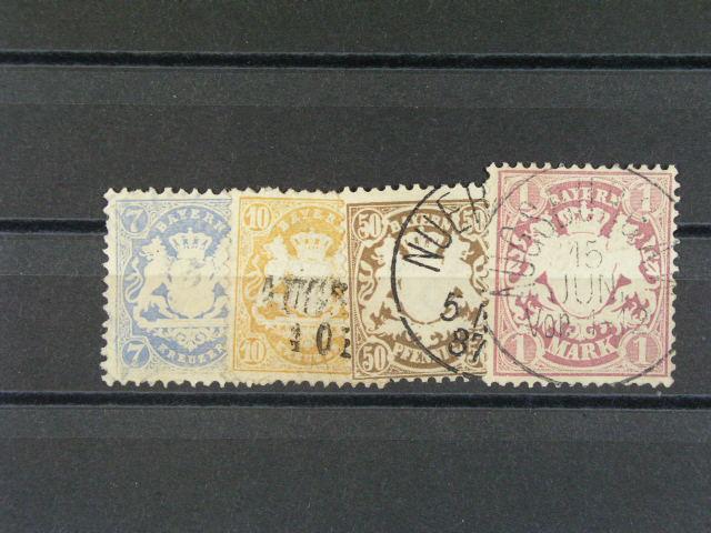 Bavorsko - zn. Mi. ?. 25x, 35, 43, 46,
