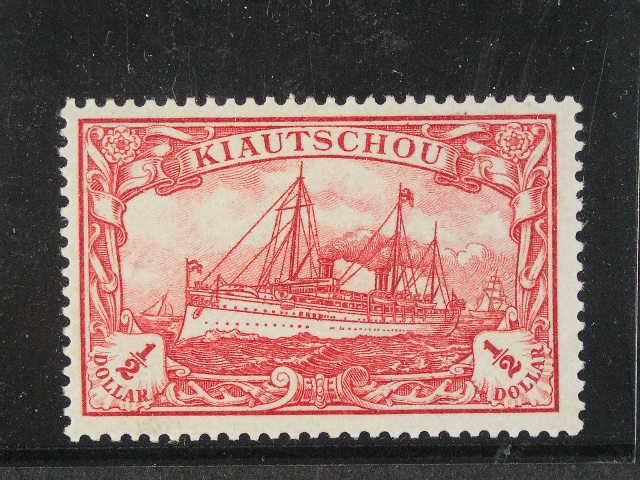 Kiautschou - zn. Mi. ?. 24 B, 85 EUR