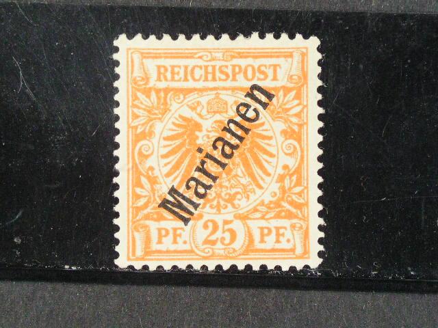 Marianen - zn. Mi. ?. 5 IIa, zk. Jäschke L.BPP, 240 EUR