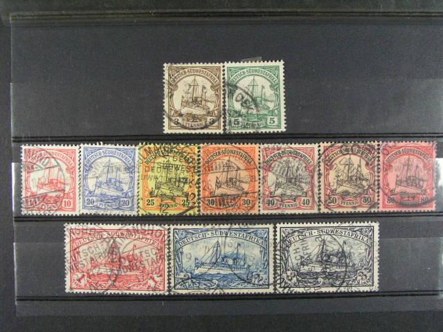 S.W. Afrika -zn. Mi. ?. 11 - 22, 160 EUR