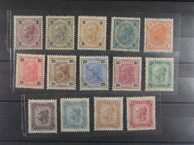 zn. Mi. ?. 105 - 117, dvl., 1100 EUR