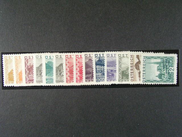 zn. Mi. ?. 498 - 511, 750 EUR