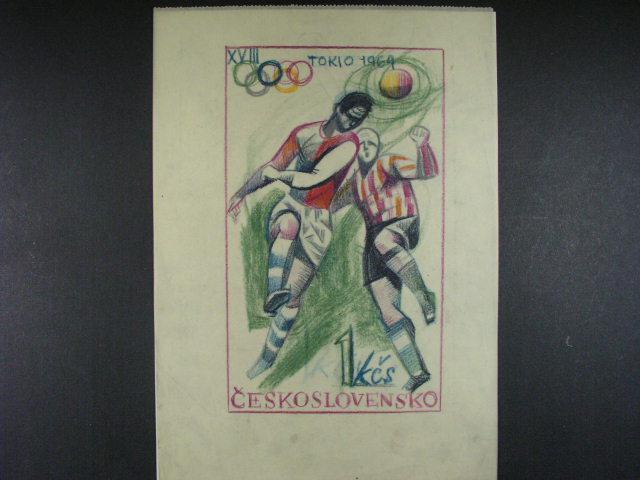 bar. kreslený návrh A. Podzemné na zn. ?. 1394, formát A4