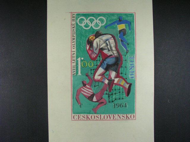 bar. kreslený návrh A. Podzemné na zn. ?. 1396, formát A4