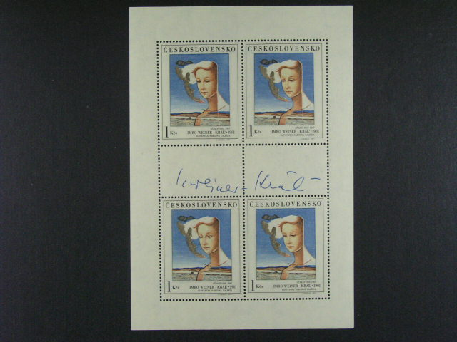 PL ?. 1922 s podpisem autora Imro Weiner Král