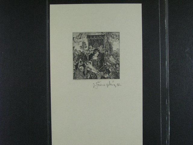 PT 4 N (nevydaný) s podpisem J. Švengsbír, kat. cena 5000 K?