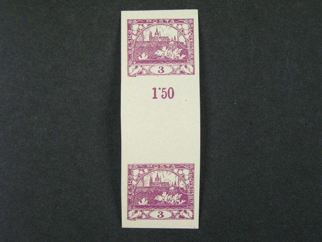 zn. č. 2 Ms - dvouzn. meziarší stejnosměrné přeložené, zk. Gilbert, kat. cena 18000 Kč