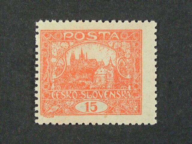 zn. č. 7 B, typ II, decentrovaná,  zk. Kračmar, kat. cena 2000 Kč